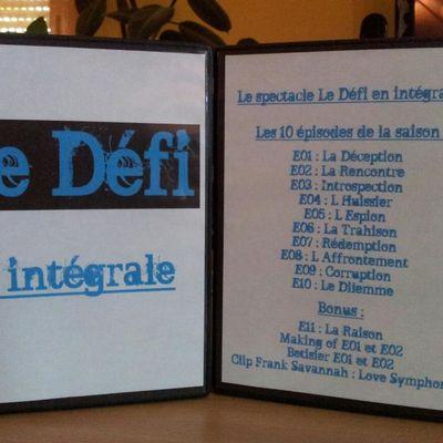 Le DVD de l'Intégrale du Défi est enfin disponible !