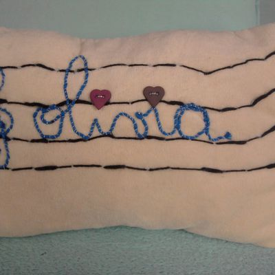 "coussin ""olivia"""
