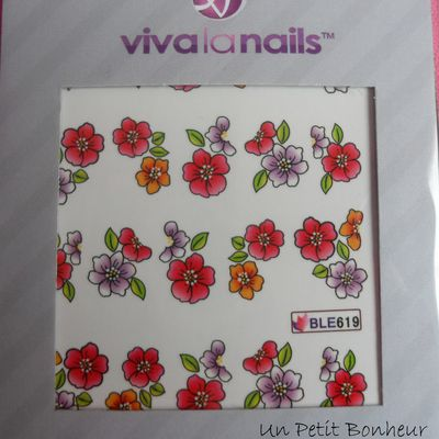 Waterdecals Viva La Nails