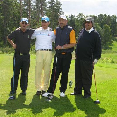 Golfer Rudi Hauer holt Top -Ten Platz