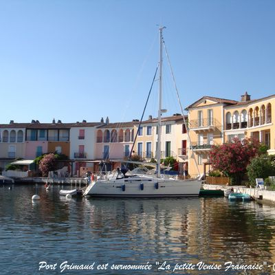 LIFE IN FRANCE : PORT GRIMAUD