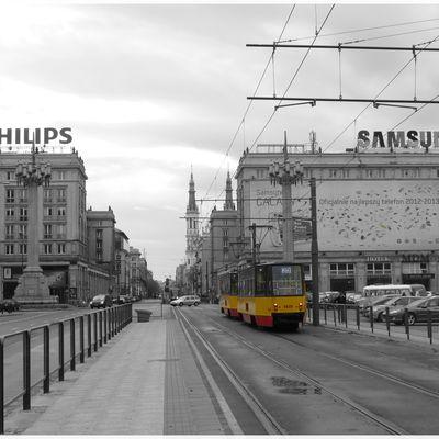 Tramway à Varsovie
