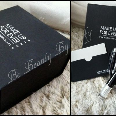 Nouvelle gagnante de la Make Up For Ever Box...