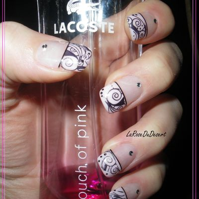 French rose et stamping