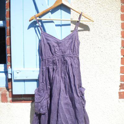2. robe d'été violette