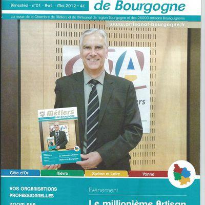 """Numéro 1 """"Métiers de Bourgogne"""""""