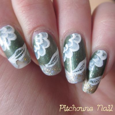 Nail Art One Stroke Vert