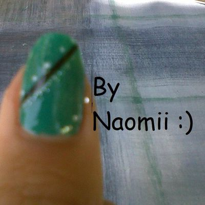 Nail art Turquoise