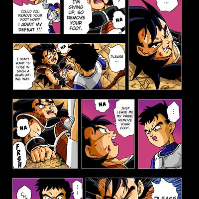 Dragon Ball Zero Colorisation - Page 03 -