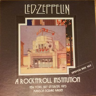 A Rock'N'Roll Institution - 9CDs (Beelzebub Record) - Soundboard (8 à 10/10)