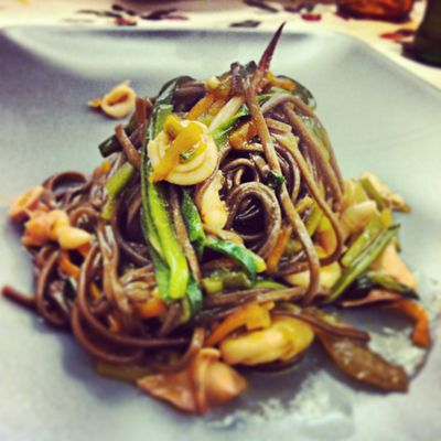 majtaj ovvero spaghetti saba e totani + Langhorne Slim