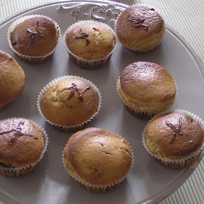 Muffins à la Nutella et/ou à la crème de Speculoos...