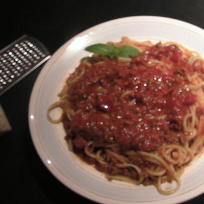 La sauce rouge... Pasta !