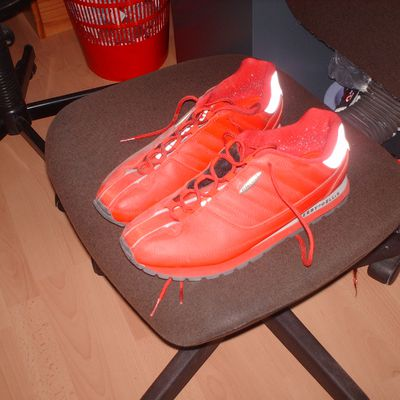 Chaussures Perry Ellis rouge
