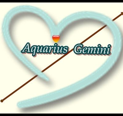 The folklore of the compatibility between Aquarius and Gemini