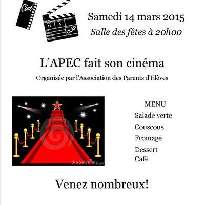 L'APEC fait son cinéma!
