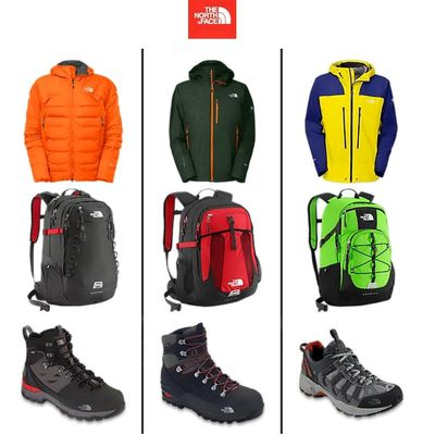 The North Face: Chamarras, Mochilas y más.