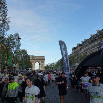Un petit tour de piste sur le Marathon de Paris 2014