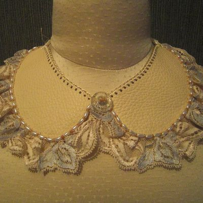 Collier Claudine cuir 115