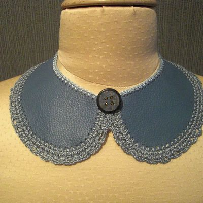 Collier Claudine cuir 116