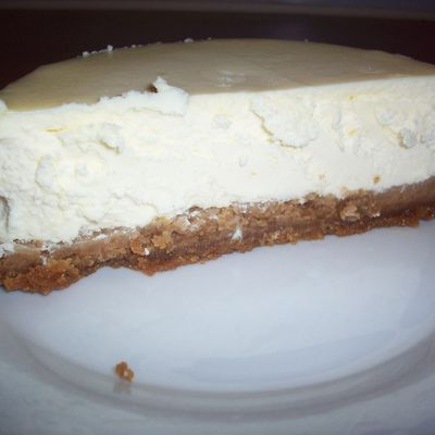 Menu 100% fromage : Cheesecake New Yorkais