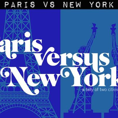 Paris vs New York