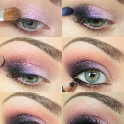 Makeup Tutorial immagini Pink-Purple