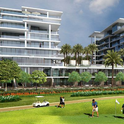 Akoya Golf Panorama Dubai || Damac properties Golf studio apartments Panorama | 1-2-3 Bed townhouse apartments