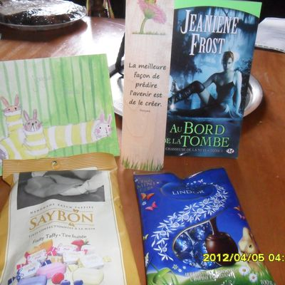 In My Mail Box #2 (8 avril 2012)