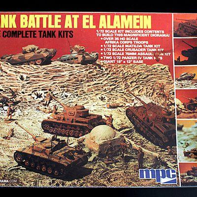 Nouvelle galerie - diorama MPC Tank Battle at El Alamein