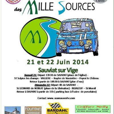 8éme Rallye historique des mille Sources