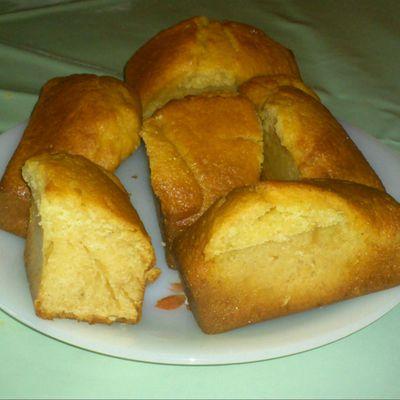 Campagne de Test: Le Fruit de MONIN #7 Gâteau au yaourt à la mangue 2ème tentative