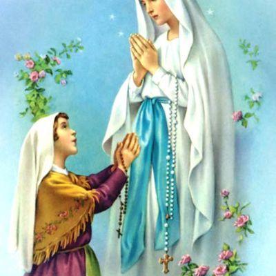 11 Febbraio : Beata Vergine Maria di Lourdes - preghiere e litanie