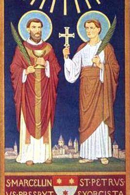 2 Giugno : Santi Marcellino e Pietro - Preghiera