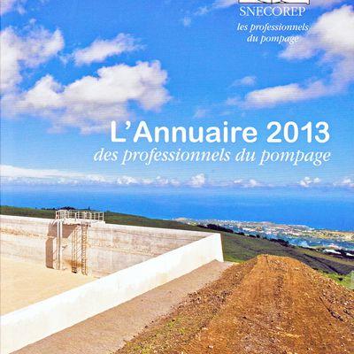 L'ANNUAIRE SNECOREP 2013