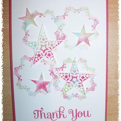 Carte Thank you