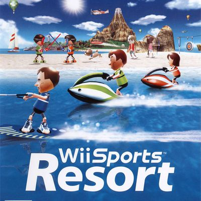 Wii sports resort (fr)-(pal) Wii