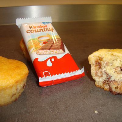 Muffins aux Kinder Country