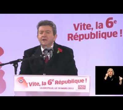 Rassemblement pour la VIe république: Le coup de «génie» du Front de Gauche