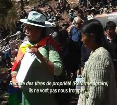 LES DOCUMENTAIRES - LOS DOCUMENTALES - Bolivie, une révolution élue / Una revolucion elegida
