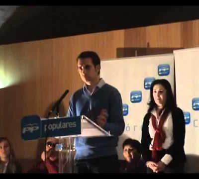 Presentación candidatura PP 2011 San Sebastian de los Bros (2ª parte)