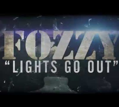 """FOZZY releases new single """"Lights Go Out"""""""