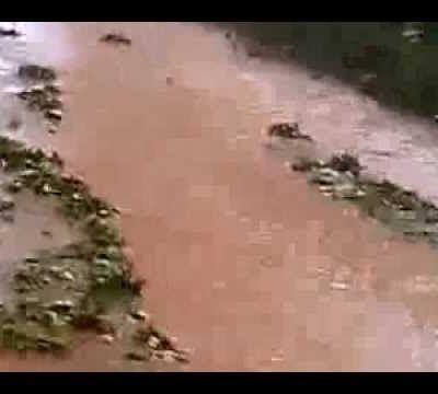 la région de Créon sous les orages