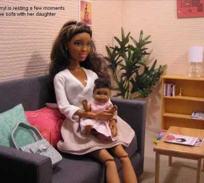 barbie doll story - Johnson family part one