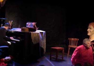 """Une des chansons du spectacle """"Je chante Pour"""" autour de l'oeuvre de Gilles Vigneault"""