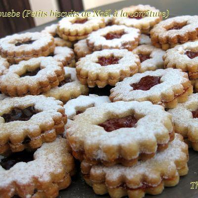 Spitzbuebe (Petits biscuits de Noël à la confiture)