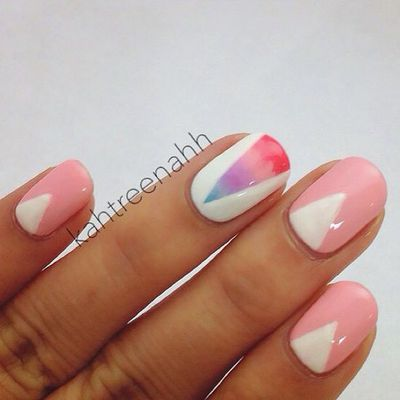 gradient with pink a
