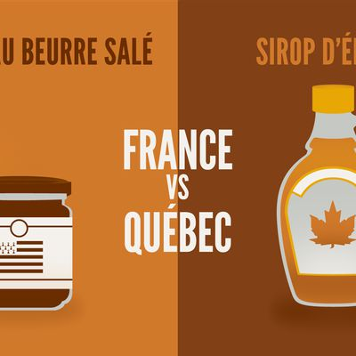 France vs Québec en quelques illustrations