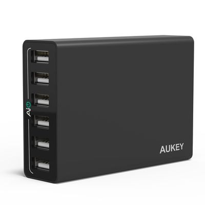 TEST: Chargeur secteur 6 ports USB AiPower - AUKEY