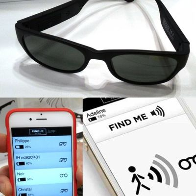 Lost glasses? No problem. iHuman FindMe glasses come with locator app